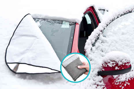 Grids London - Magnetic windscreen cover fight frost - Save 72%