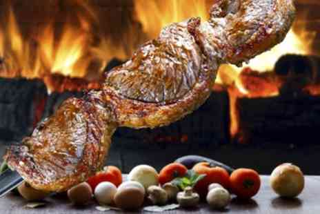 Brassett Churrascari - All You Can Eat Brazilian Barbecue Rodizio Meat Feast with Hot and Cold Buffet for Up to Six - Save 0%