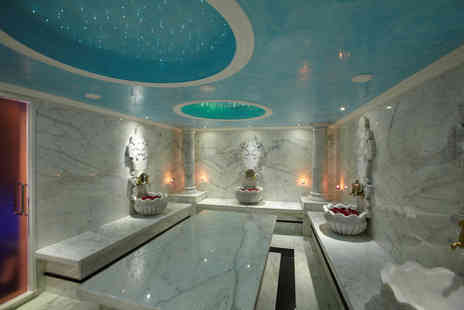 Crystal Palace Spa - 90 minute hammam experience for one including two treatments -