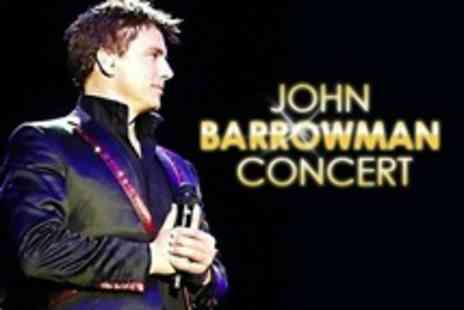 Cuffe and Taylor Event Management - John Barrowman Concert Ticket - Save 61%