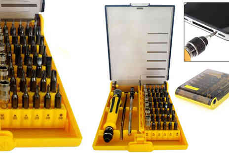 Plus Bee - 45 in 1 Precision Torx Screw Driver Set - Save 40%
