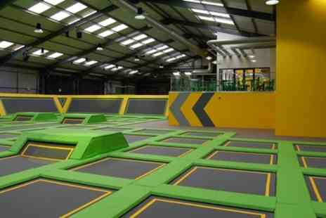 Jump Xtreme - One Hour Trampoline Jump Session for Up to Four - Save 31%