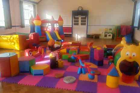 Squashies Softplay - Three Hour Soft Play Hire with Baby or Toddler Package - Save 0%