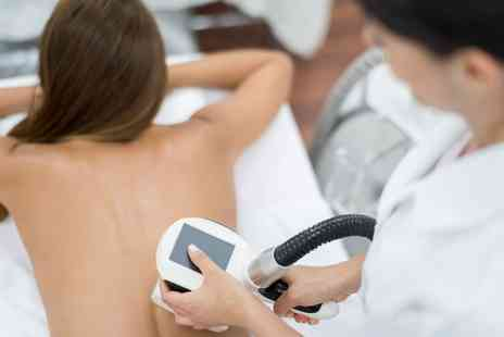 Bee Beautiful - Six Sessions of Ultrasonic Cavitation or One Session of Cryogenic Lipolysis with Radio Frequency - Save 0%