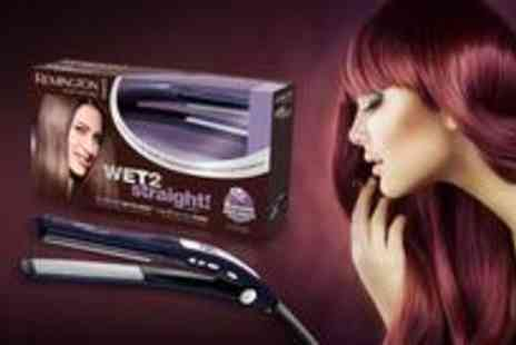 Remington - Set of Wet2Straight� straighteners from Remington - Save 67%