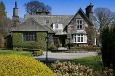 Broadoaks Boutique Country House - In Lake District One Night Stay For Two With Four Course Dinner, Canape Reception, Cream Tea and Breakfast in Bed - Save 56%