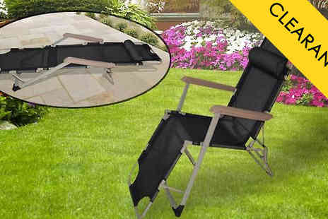 luxury bed and warehouse - 2 in 1 Zero Gravity Chair & Lounger With Pillow - Save 70%