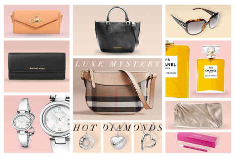 Brand Logic - Luxury mystery gift of Burberry handbag, Michael Kors purse, Chanel perfume, Dior sunglasses, Gucci watch and more - Save 0%
