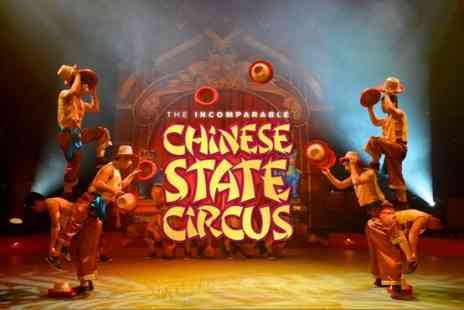 Chinese State Circus - Ticket to Chinese State Circus, Dynasty on 19 September to 15 October - Save 46%