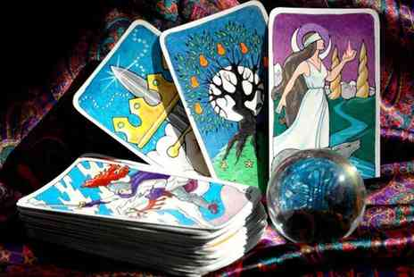 Sanguine Wellness - Tarot card reading via telephone or email - Save 80%
