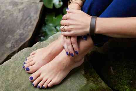 Naked Beauty - Shellac Manicure or Pedicure or Both - Save 40%