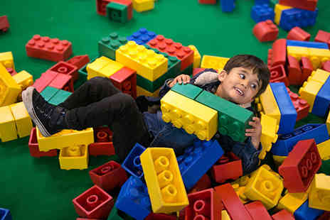 BRICKLIVE - Single ticket to BrickLive, family ticket of up to two adults and two children - Save 31%