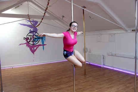West End Pole Dance Academy - Four beginners pole dancing classes - Save 65%