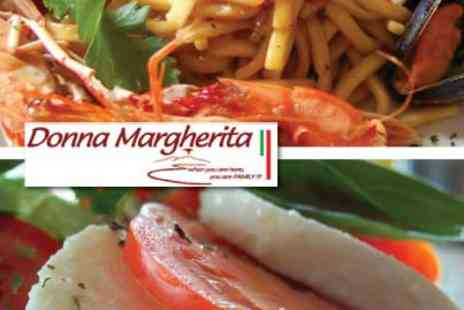 Donna Margherita - £35 for 5-Course Meal for Two - Save 53%