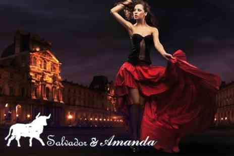 Salvador & Amanda - Evening of Flamenco and Spanish Cuisine For Two with Eight Tapas Dishes - Save 60%