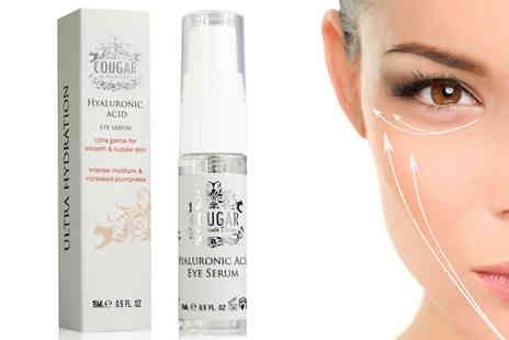 Cougar Beauty Products - Hyaluronic Acid Eye Serum - Save 47%