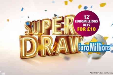 Lottoland - 12 EuroMillions Line Bets - Save 58%