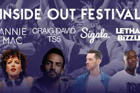 Inside Out Festival - One general admission ticket to Inside Out Festival on 30 September - Save 9%