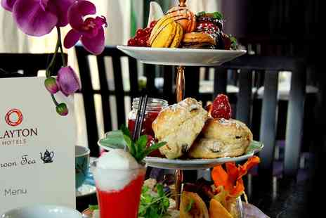 Clayton Hotel Cardiff - A Proper Lush Afternoon Tea with Prosecco Cocktail for Two or Four - Save 25%