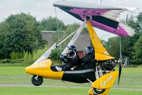 Learn to Fly - One Hour Flex Wing Microlight Flying Experience - Save 46%