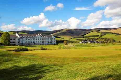 Macdonald Cardrona Hotel - Scottish Borders spa day with massage & afternoon tea - Save 37%