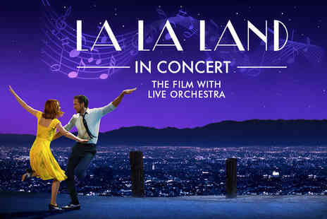 Senbla Live Events - Ticket to see La La Land in concert with a live 60 piece orchestra on the 23rd September or Blackpools Opera House on the 26th September - Save 47%
