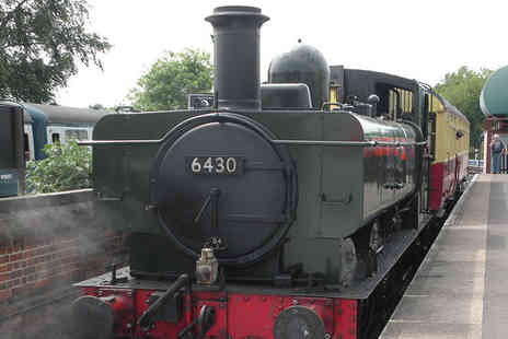 Epping Ongar Railway - Childs, adult or family all day rover ticket with Epping Ongar Railway - Save 36%