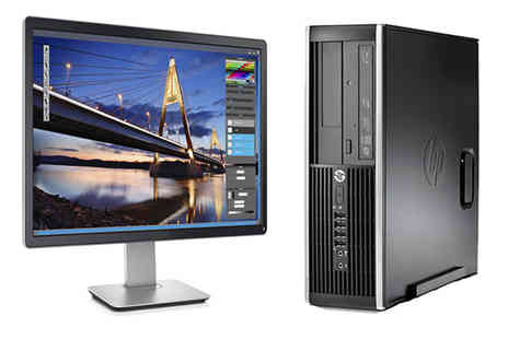 JMN Business Solutions - HP Elite 8200 Core I5 Desktop with a 250GB hard drive 19 inch screen - Save 67%
