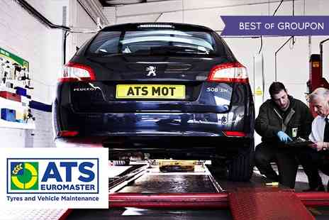 ATS Euromaster - MOT Test and 10% Discount on Car Repair - Save 33%