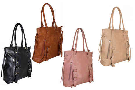 Pearl Info - Tassle handbag choose from four fabulous colours - Save 73%