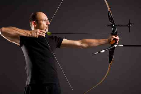 1066 Target Sports - Archery, Throwing or Air Rifle Course, or Activity Half Day with Seven Experiences - Save 56%