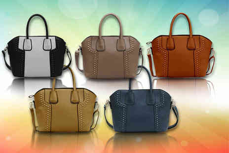 Pearl Info - Studded tote bag choose your colour - Save 75%