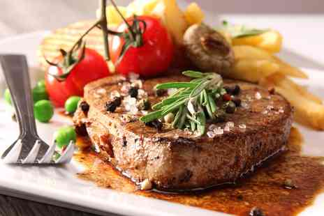 The Yard Ilkley - Steak with Chips for Two or Four - Save 37%
