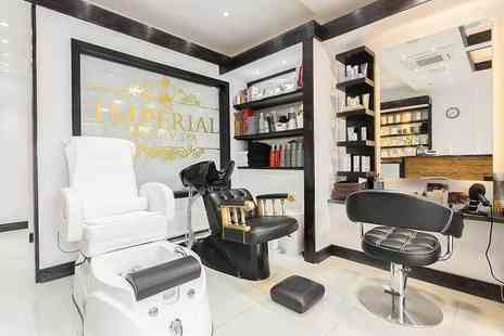 Imperial Beauty Spa - 90 minute pick n mix pamper package with your choice of three treatments - Save 76%