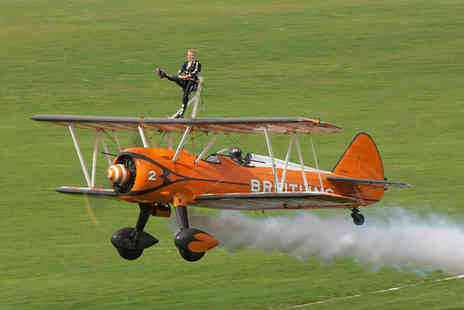 Live Promotions Events - Childs ticket to The Footman James Sywell Classic Pistons & Props 2017 festival on 23rd or 24th September - Save 50%