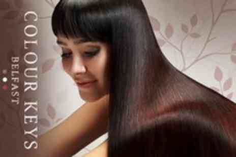 Colour Keys - Brazilian Blow Dry With Cut and Finish - Save 60%