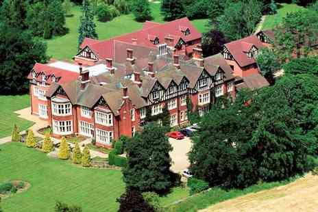 Scalford Hall Hotel - One or Two Nights Stay for 2 with Breakfast, Main Course Dinner and Late Check Out - Save 46%
