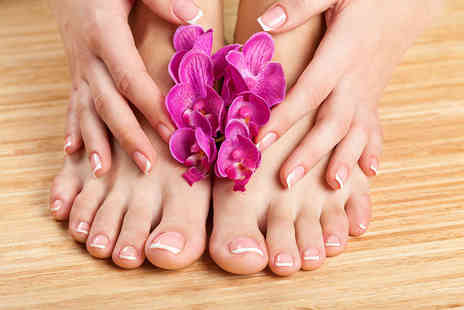 Tantalizing Spa - Express manicure, an express pedicure or both - Save 53%