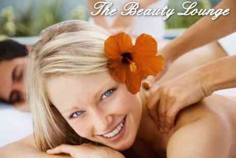 Beauty Lounge  - Spa Day For Two Including Facial, Body Polish, and Manicure or Pedicure - Save 80%