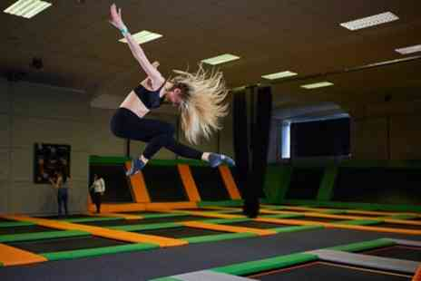 Jump 360 Newcastle - One Hour Trampoline Park Access for One or Two - Save 25%