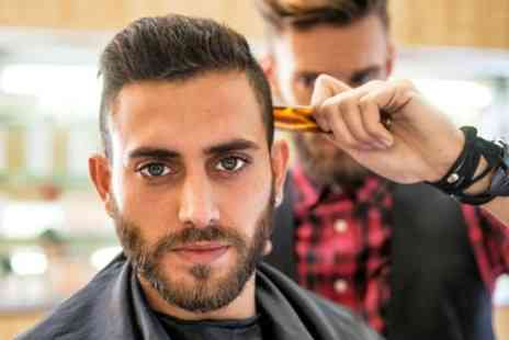 Knightsbridge Barbers - Hot Towel Shave or Mens Wash, Cut and Style with Optional Beard Trim - Save 40%