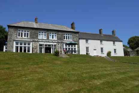 Costislost Organic - Four Star Health Focused B&B near the North Cornish Coast Stay For Two - Save 0%