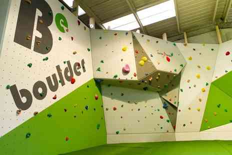 BeBoulder - Climbing session for two - Save 65%