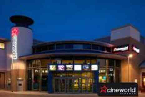 Cineworld - One Cineworld Ticket for 4 - Save 57%