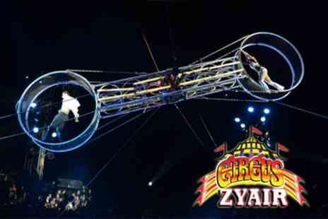 Circus Zyair - Two or four day tickets to Circus Zyair with popcorn on 5 To 10 October - Save 49%