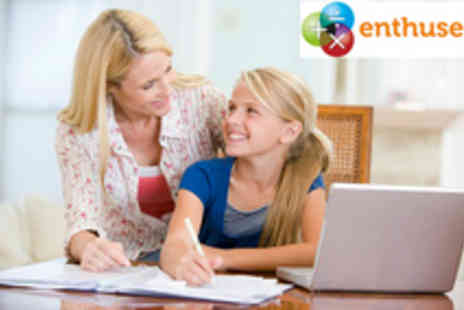 Enthuse Education - English and Maths Summer Tuition Pack - Save 80%