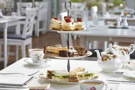 Broadoaks Country House - Sparkling Afternoon Tea for Two or Four - Save 44%