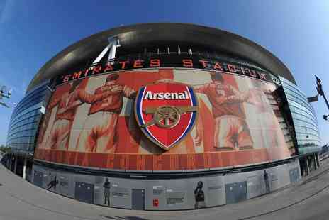 SuperBreak - Four Star London stay For Two with Emirates Stadium and Arsenal Museum entry and breakfast - Save 39%