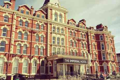 The Imperial Hotel - One or Two night Blackpool stay for two with breakfast - Save 62%