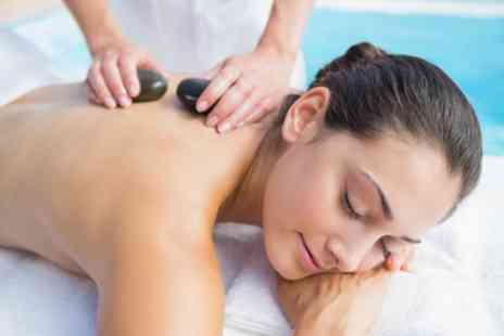Adorez - Hot Stone Massage Plus Facial and Optional Indian Head Massage - Save 47%